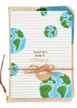 Load image into Gallery viewer, teacher notebook & pouch