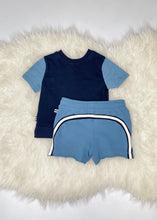 Load image into Gallery viewer, boys short sleeve tee & shorts set