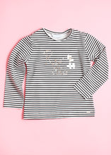 Load image into Gallery viewer, girls stripe tee