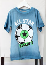 Load image into Gallery viewer, short sleeve tee-all star soccer