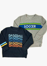 Load image into Gallery viewer, boys cozy soccer pull over top