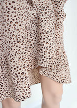 Load image into Gallery viewer, leopard cami ruffle dress
