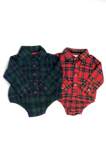 baby plaid crawler