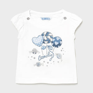 baby short sleeve candy tee