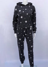 Load image into Gallery viewer, stars hoodie & jogger 2 piece set