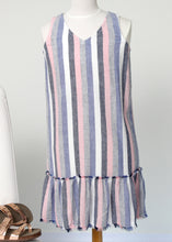 Load image into Gallery viewer, stripe tank dress-tween
