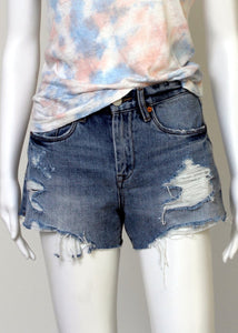 cut off denim shorts