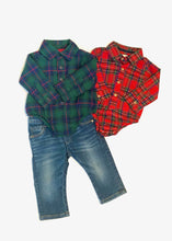 Load image into Gallery viewer, baby plaid crawler