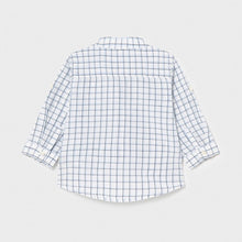 Load image into Gallery viewer, baby check linen shirt