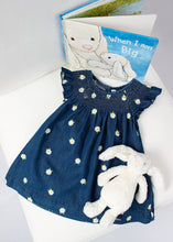 Load image into Gallery viewer, daisy denim dress for girls