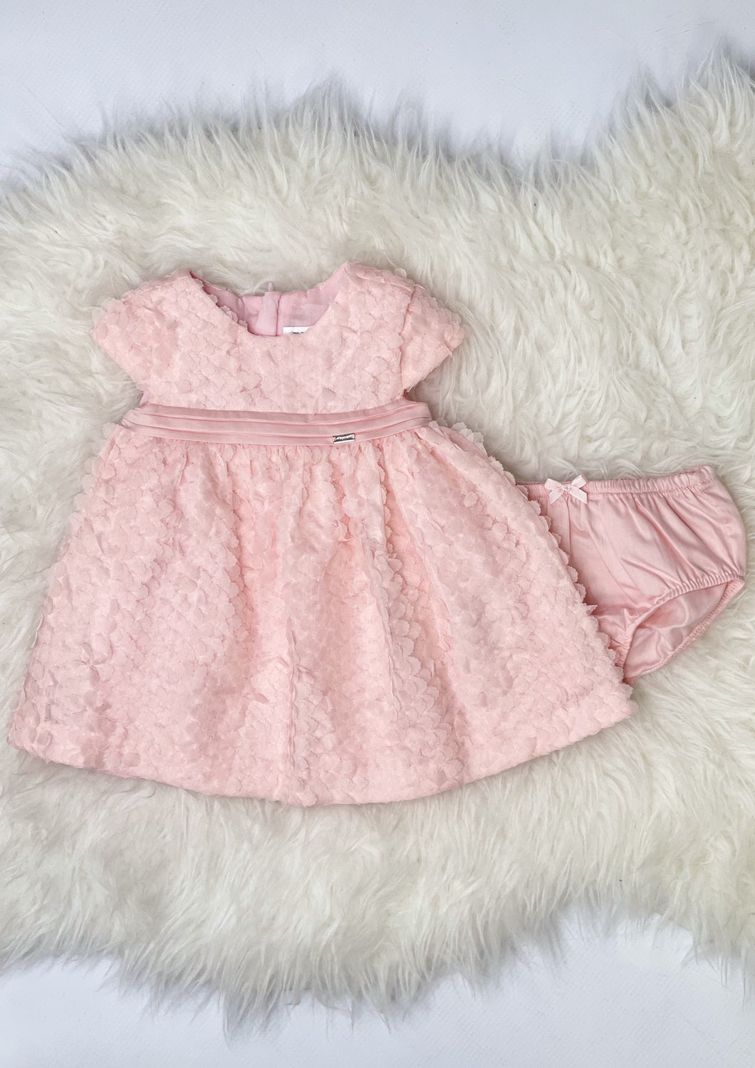 2 piece dress and diaper cover