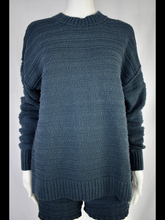 Load image into Gallery viewer, l/s sweater & shorts set