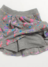 Load image into Gallery viewer, cozy flouncy skort-unicorn