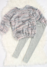 Load image into Gallery viewer, girls cozy knit legging