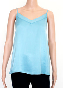 v neck satin cami