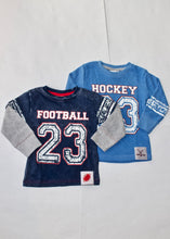 Load image into Gallery viewer, boys tee-football