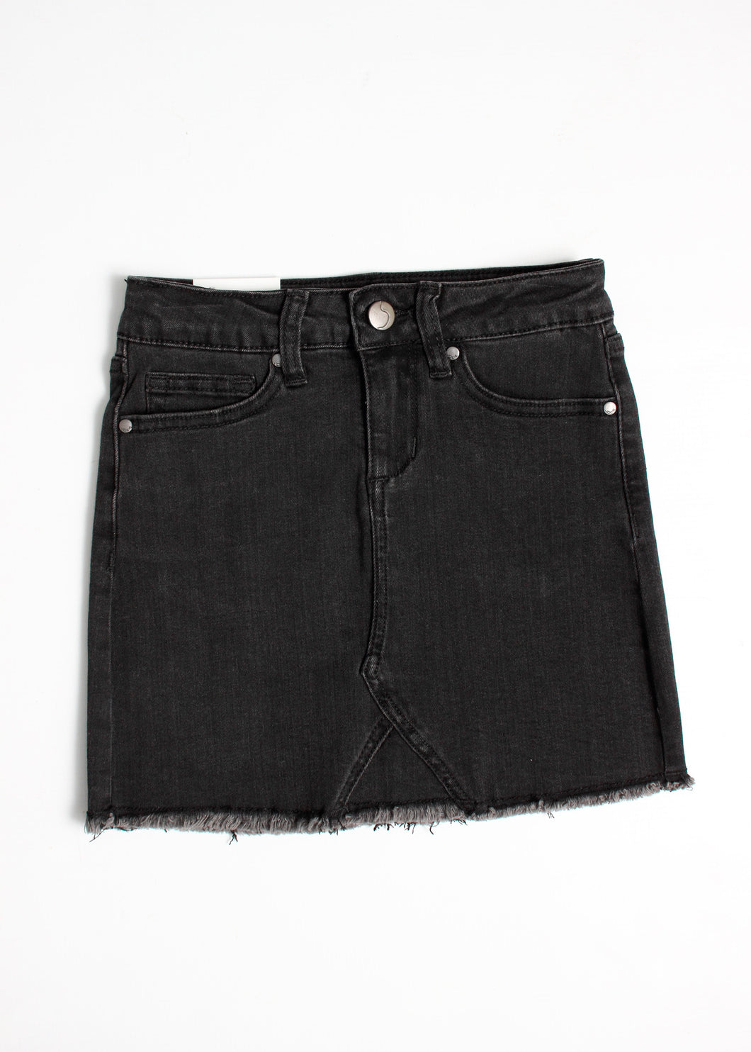 black denim skirt - tween girls