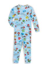 Load image into Gallery viewer, kids pj set &  book -1st football