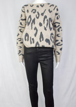 Load image into Gallery viewer, leopard dolman sweater