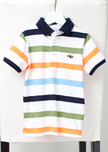 Load image into Gallery viewer, short sleeve stripe polo-boys