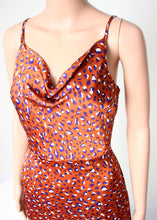 Load image into Gallery viewer, midi cami dress-leopard