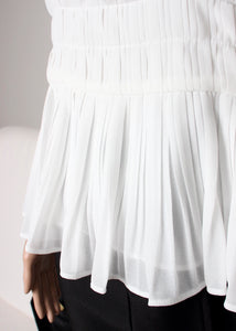 pleat cami top