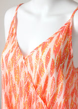 Load image into Gallery viewer, print surplice halter cami