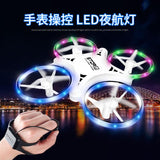 Watch Gesture Sensor Quadcopter Ufo Sensor Watch Drone Remote Control Helicopter Children' Toy