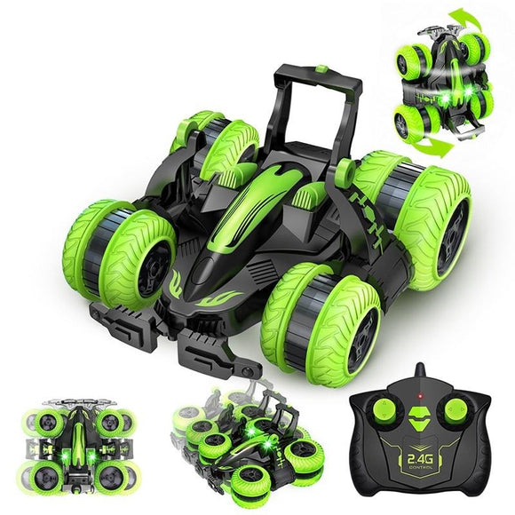 Rock Crawler Roll, 360 Degree Flip Remote Control Car