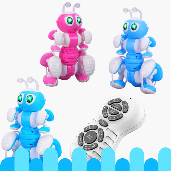 Remote Control Ant Music Story Dance Simulation Electric Ant Intelligent Programming Electric Robot Children Interactive Toy