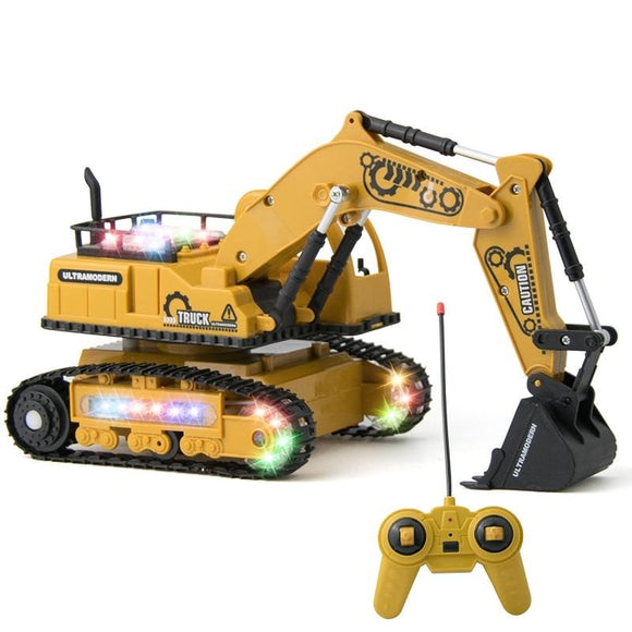 4-CH Simulation RC Truck Excavator Toys