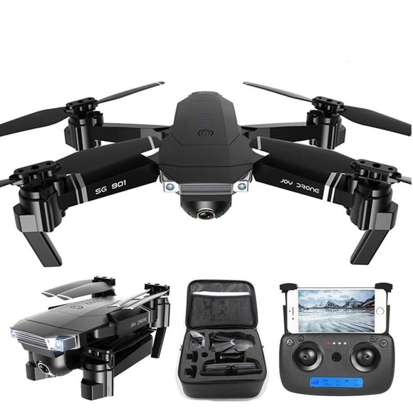 4-K Professional Folding Drone With HD Camera