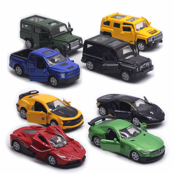 Pull Back Alloy SUV Model Metal Car
