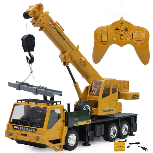 Remote Control Hoist Crane Engineering Vehicle