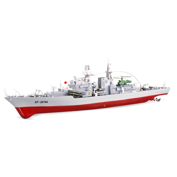 78cm 1:275 Military Smasher Destroyer RC Boat Ship Toy 40m Remote Control Distance And Long Playing Time Strong Power Kid Toys