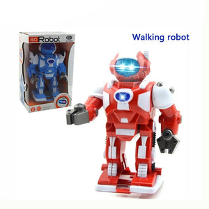 Children's educational toys Space Robot