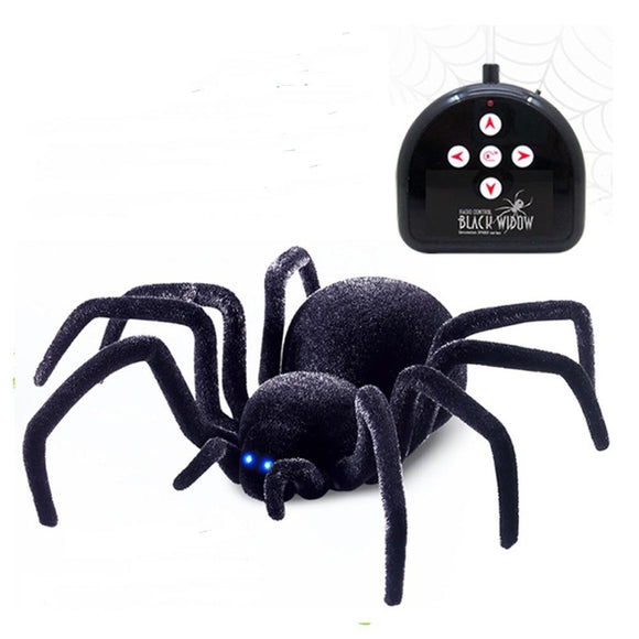 4-Ch Remote Control black Spider Simulation