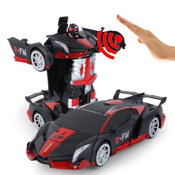 Gesture sensing Electric Transformation Robots Sports RC Cars