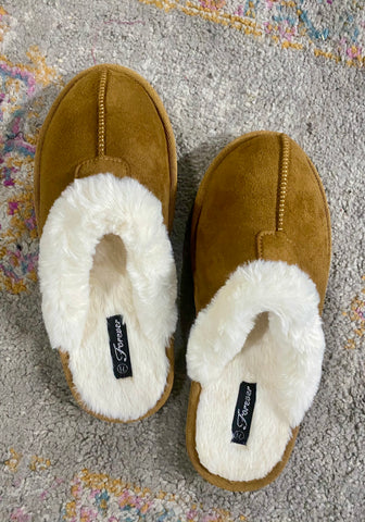Cozy all night slippers