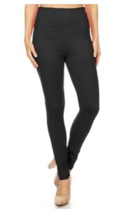 Black xtra plus size butter soft leggings