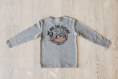 """We are the future"" Kids L/S Tee"