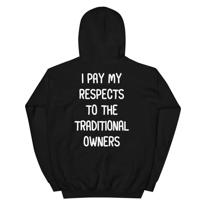 """Respects"" Hoodie"