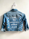 "Hand-painted kids jacket- ""Wildest Dream"""