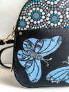 Hand painted Butterfly Backpack