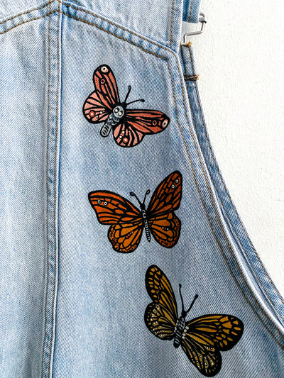 Butterfly Dreaming Women's Overalls