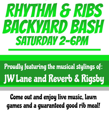 Rhythm & Ribs Backyard Bash