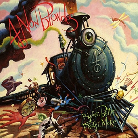 USED – 4 Non Blondes: Bigger, Better, Faster, More!