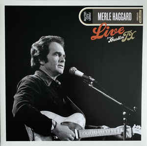 Merle Haggard: Live from Austin City Limits (colored vinyl)