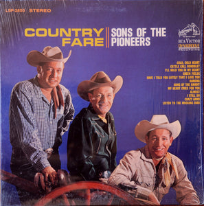USED – Sons of the Pioneers: Country Fare