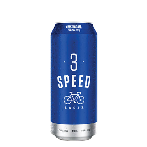 3 Speed Lager 473ML Can | 25 PACK